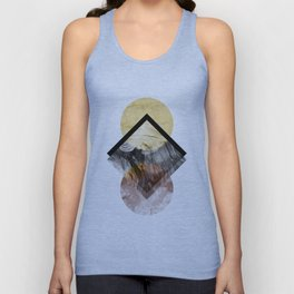 Geometric Composition 5 Unisex Tank Top