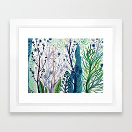 les algues Framed Art Print