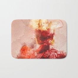 Fanning The Flames Bath Mat