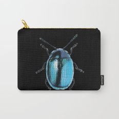 Insecte blue métal colors fashion Jacob's Paris Carry-All Pouch