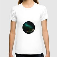 northern lights T-shirts featuring Northern Lights in Tromso by Louise