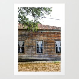 Three Windows Art Print