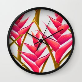 flowers fantasia Wall Clock