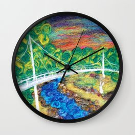 Liberty Bridge 2018 Wall Clock