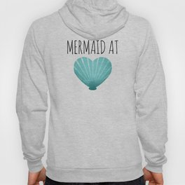 Mermaid At Heart  |  Teal Hoody