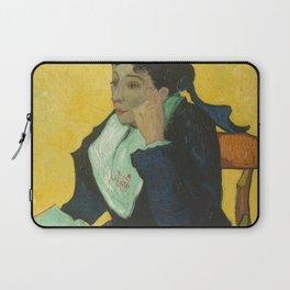 Vincent van Gogh - L'Arlésienne: Madame Joseph-Michel Ginoux (Marie Julien, 1848–1911) Laptop Sleeve