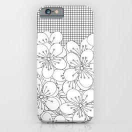 Cherry Blossom Grid - In Memory of Mackenzie iPhone Case