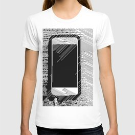 iPhone 5 Wolfram Rule 126 T-shirt