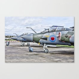 Buccaneer strike aircraft Canvas Print