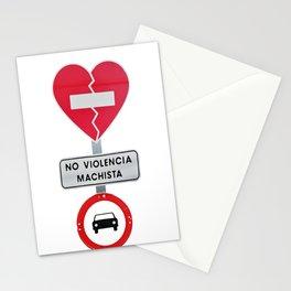 Non Violent men Stationery Cards