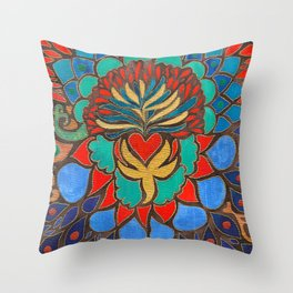 Feral Heart #03 Throw Pillow