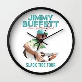 JIMMY BUFFETT - SLACK TIDE TOUR 2020 Wall Clock