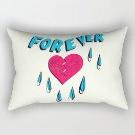 Forever HeartBroken Rectangular Pillow