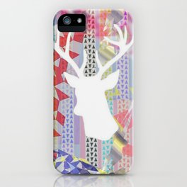 Deer'n pop iPhone Case