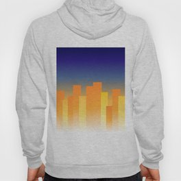 Simple City Sunset Hoody