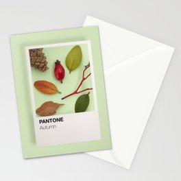 Autumn tones Stationery Cards