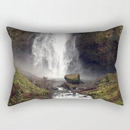 Multnomah Falls Oregon Rectangular Pillow