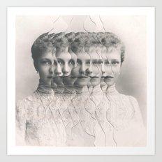 Maria / Vapor (2014) Art Print