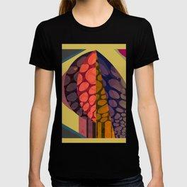Autumnal Tree through the Window T-shirt
