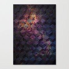 Heroine pattern Canvas Print