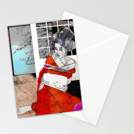 shibari 1 Stationery Cards
