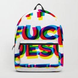 Jesus t f c Backpack