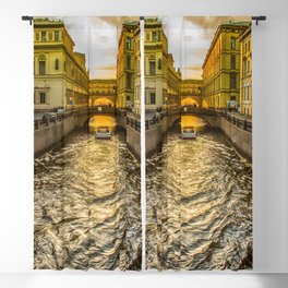 Swan Canal in St. Petersburg Blackout Curtain