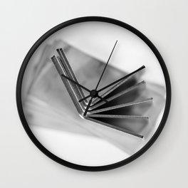 Metal Art 6 Wall Clock