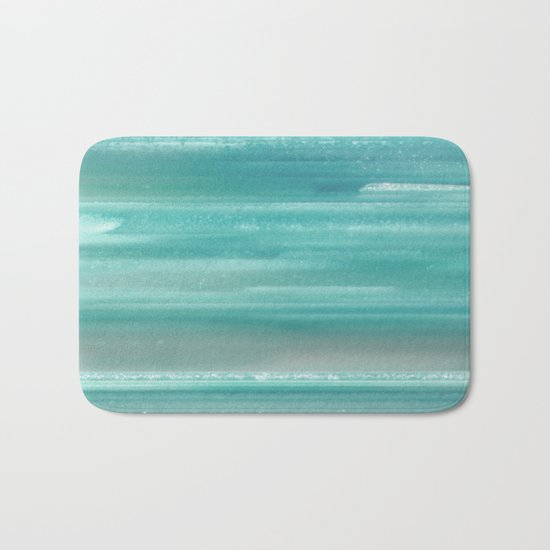 Turquoise Geode Bath Mat