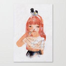 Le Mésange Canvas Print