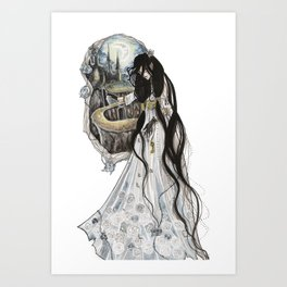 The Gatekeeper Art Print
