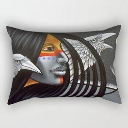 Ice Sentry Rectangular Pillow