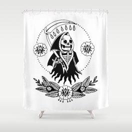 Garden Reaper Shower Curtain
