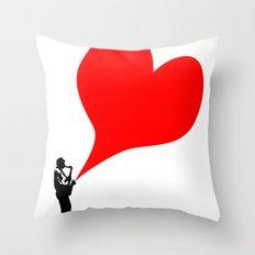 Big Heart Throw Pillow