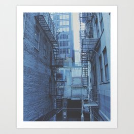 Build Yourself First Art Print