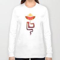 snake Long Sleeve T-shirts featuring Snake by Anya McNaughton