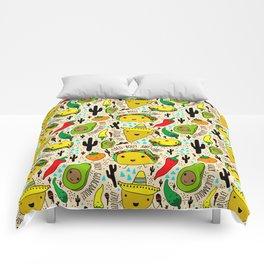 Kawaii Fiesta Comforters