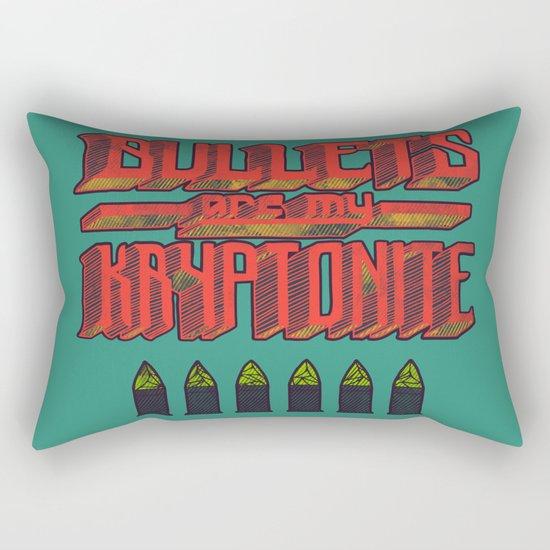 Kryptonite (alternate) Rectangular Pillow