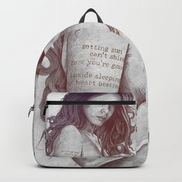 You Lied: Rainbow (nude girl with mehndi tattoos) Backpack