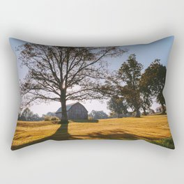Kentucky Barn Rectangular Pillow