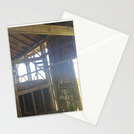 Rustic Engagement Stationery Cards