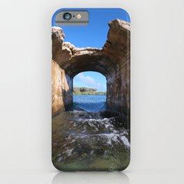Inarajan Pool Bridge Ruins iPhone Case