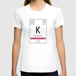 Potassium - chemical T-shirt