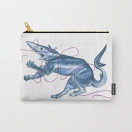 Blue Shark Cat :: Series 1 Carry-All Pouch