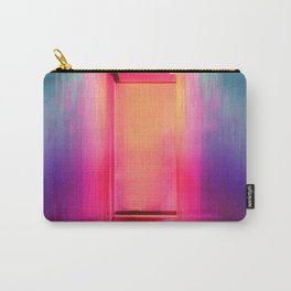 Neon Hallways Carry-All Pouch
