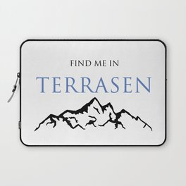 Find Me In... TERRASEN Laptop Sleeve