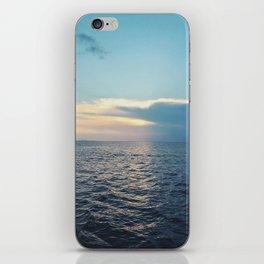 stretch across iPhone Skin