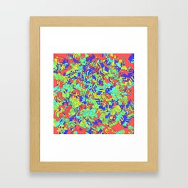 Fuck you Colors Framed Art Print