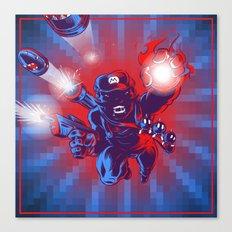 Action Hero Canvas Print