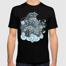 Yeti MEDIUM Mens Fitted Tee Black